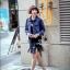 เสื้อผ้าเกาหลี พร้อมส่งแจ็คเก็ตยีนส์สไตล์เกาหลี thumbnail 3