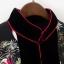 เสื้อผ้าแฟชั่นพร้อมส่ง เสื้อคลุมคอจีนแขนยาวกระดุมหน้า thumbnail 4