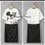 เสื้อผ้าเกาหลี พร้อมส่ง ชุดเข้าเซทดีเทลสุดน่ารัก thumbnail 3