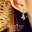 ต่างหูผีเสิ้อ เพชรงานดีไซส์หรูหรา เพชร CZ ราคา 890฿ Made in korea thumbnail 3