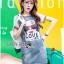 ชุดเดรสเกาหลี พร้อมส่งเดรสผ้าเดนิมพิมพ์ลายสไตล์สตรีทสุดเก๋ thumbnail 1