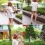 เสื้อผ้าเกาหลี พร้อมส่ง เสื้อลูกไม้ฉลุลาย ซีทรู แต่งลายฉลุตาข่ายซีทรู thumbnail 6