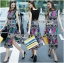 Alice Vivid Colorful Graphic Printed Maxi Dress thumbnail 4