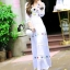Luna Embroidered Luxury Beach Long Dress thumbnail 1