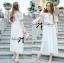 Emilia Bohemian Off-Shoulder Embroidered Cotton Lace Maxi Dress thumbnail 8