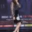 เสื้อผ้าเกาหลีพร้อมส่ง โอยอนซอกับเซ็ตเสื้อซีทรูสีดำลายวงกลมๆทั้งตัว thumbnail 3