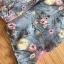 ชุดเดรสเกาหลีพร้อมส่ง เดรสผ้าชีฟองพิมพ์ลายดอกไม้ทรงเปิดไหล่ตกแต่งระบาย thumbnail 10