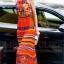 ชุดเดรสเกาหลี พร้อมส่งเดรสตัวยาว สีส้มโทนสดใส thumbnail 2