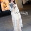 Florence Bohemian Chic White Lace Outerwear thumbnail 5