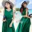 Elegant Sleeveless Bohemian Style Open Back Maxi Dress thumbnail 1