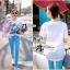 ( พร้อมส่งเสื้อผ้าเกาหลี) เสื้อยืดพิมพ์ลายเป็ด Disney Donald Duck ตัวนี้เหมาะกับสาวขี้เล่น ชอบความสนุก รักกางแต่งตัว เสื้อผ้าเนื้อดีพิมพ์ลายเป็ดโดนัลด์ดั๊ค น่ารักมากๆค่ะ ช่วงลายตรงคำพูดปักเลื่อมแบบประณีตมากๆ ช่วยเพิ่มลูกเล่นให้ดูไม่น่าเบื่อ thumbnail 7