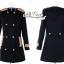 Korean woolen coat collar double-breasted wool coat thumbnail 9