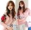 เสื้อผ้าเกาหลี พร้อมส่ง สเวตเตอร์แขนยาวผ้าขนสัตว์สังเคราะห์ตัดแต่งผ้าถักโครเชต์ปักลายดอกกุหลาบ thumbnail 1