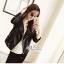 Lady rock leather jacket thumbnail 1