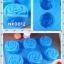 พิมพ์ยางซิลิโคน ลายกุหลาบ 6 ช่อง (พิมพ์คละุสี) ขนาดช่องตามภาพ thumbnail 1