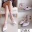 งานเก๋เว่อร์สไตล์ Zara รองเท้าส้นเข็มหัวแหลมสไตล์ซาร่า thumbnail 6