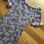 ชุดเดรสเกาหลีพร้อมส่ง เดรสผ้าลูกไม้สีเทาชมพูตกแต่งระบายสีชมพู thumbnail 7