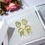 พร้อมส่ง Classic Dior earring thumbnail 1