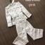 เสื้อผ้าแฟชั่นพร้อมส่ง เซตคอจีนที่ปังที่สุดตอนนี้ มีเข็มขัด thumbnail 6