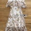 Matilda Gold Sequin Embroidered Tulle Ruffle Dress thumbnail 7