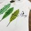 เสื้อผ้าเกาหลี พร้อมส่ง Set เสื้อกระโปรงลายชายทะเลโทนสีพาสเทล กระโปรงทรงเอพิมพ์ลายใบไม้สีสันแสนหวาน thumbnail 11
