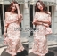 Rebecca Off-Shoulder Single Roses Lace Dress thumbnail 5