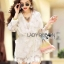 Veronica Classy Elegant Lace Outerwear thumbnail 3