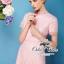 ( พร้อมส่งเสื้อผ้าเกาหลี) เดรสแบรนด์ Valentino เนื้อผ้าลูกไม้สีชมพูหวาน เนื้อผ้า70%polyester 30%silk ตัดแต่งระบายคอ/ปลายแขน/ชายกระโปรงด้วยลูกไม้แบบ eyelash กลมกลืนสวย ช่วงเอวตัดเย็บเหมือนใส่ชุดสองชิ้น เข้ารูปเน้นซิลลูเอทเว้าโค้งสวย มีซับในในตัวนะคะ thumbnail 3