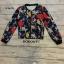 เสื้อผ้าเกาหลี พร้อมส่งชุดเซ็ตเสื้อแจ็คเก็ต+กระโปรงพิมพ์ลายแบรนด์ดัง thumbnail 8