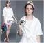 Olivia Elegant Lace Trimmed Mini Coat with Belt thumbnail 6