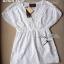 เสื้อผ้าเกาหลี พร้อมส่ง เสื้อปักฉลุตัวยาวคอวี thumbnail 4
