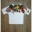 เสื้อผ้าเกาหลี พร้อมส่งเซ็ทเสื้อ+กางเกง เสื้อพื้นสีขาวเนื้อดีละเอียดนุ่ม thumbnail 8