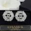 พร้อมส่ง ต่างหูแบรนด์ Chanel งานเพชร CZ แท้ thumbnail 1