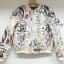 เสื้อผ้าเกาหลี พร้อมส่งPrinted Sweater Jacket thumbnail 7