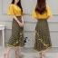เสื้อผ้าเกาหลี พร้อมส่งSanta Maria Twins Top + Skirt Set thumbnail 3