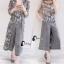 เสื้อผ้าเกาหลี พร้อมส่งMacy Grey - Set เสื้อ+กางเกง+เสื้อคลุม thumbnail 6