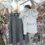 เสื้อผ้าแฟชั่นพร้อมส่ง SET ชุดเซทกระโปรง+เสื้อ thumbnail 8