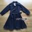 เสื้อผ้าแฟชั่นพร้อมส่ง เชิ้ตเดรสแขนยาวสีดำพร้อมเข็มขัดสไตล์มินิมัลชิค thumbnail 15