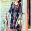 Ariana Bohemian Colorful Embroidered Cotton Dress thumbnail 5