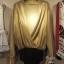 บอดี้สูทผ้าร่องเหลือบmetallic สีเงิน ทอง thumbnail 3