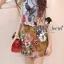 ( พร้อมส่งเสื้อผ้าเกาหลี) Set Little Bird match with Brown Skirt Flower Print by Seoul Scret thumbnail 5
