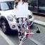 เสื้อผ้าเกาหลี พร้อมส่งChic blossom print pants set thumbnail 3