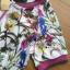 เสื้อผ้าเกาหลี พร้อมส่งเซ็ตแจ๊กเก็ตและกางเกงขาสั้นพิมพ์ลายดอกไม้ thumbnail 11