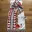 Isabelle Playful Card Printed Sleeveless Midi Dress thumbnail 6