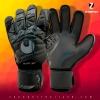 ถุงมือผุ้รักษาประตู Uhlsport Eliminator Supersoft Plus (Black/Gray)
