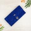 กระเป๋าสตางค์ผู้หญิง ทรงยาว รุ่น Table สีน้ำเงินเข้ม ใส่มือถือไอโฟน 6s พลัสได้ ส่งพร้อมกล่อง