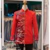 รหัส เสื้อจีนชาย : KPM010 เสื้อจีนชาย พร้อมส่ง ชุดจีนชาย โบราณ สีแดง ดีเทลทอง เหมาะมากสำหรับใส่ในพิธียกน้ำชา ถ่ายพรีเวดดิ้ง และสำหรับญาติเจ้าภาพ