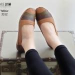 รองเท้า Loafer ทรงคลาสสิก [สีเหลือง]