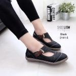 รองเท้าคัชชูสุขภาพ สไตล์โลเฟอร์ [สีดำ]