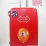 กระเป๋าเดินทาง Hipolo 100%ABS ขนาด 28 นิ้ว สีแดง